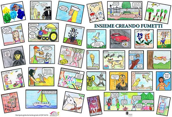 """""""Fumettando"""": a Torino mostra dei lavori di un laboratorio di fumetto"""